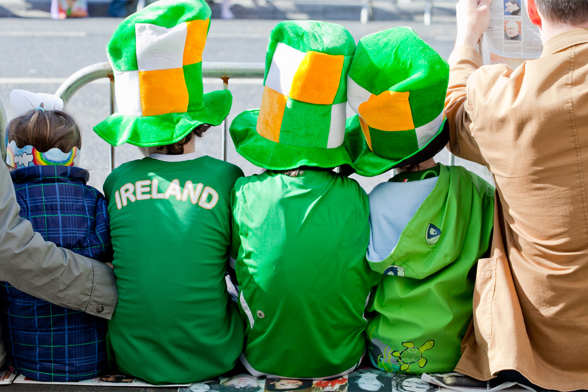 Travel Photos: Ireland, Cork, St. Patrick's day parade