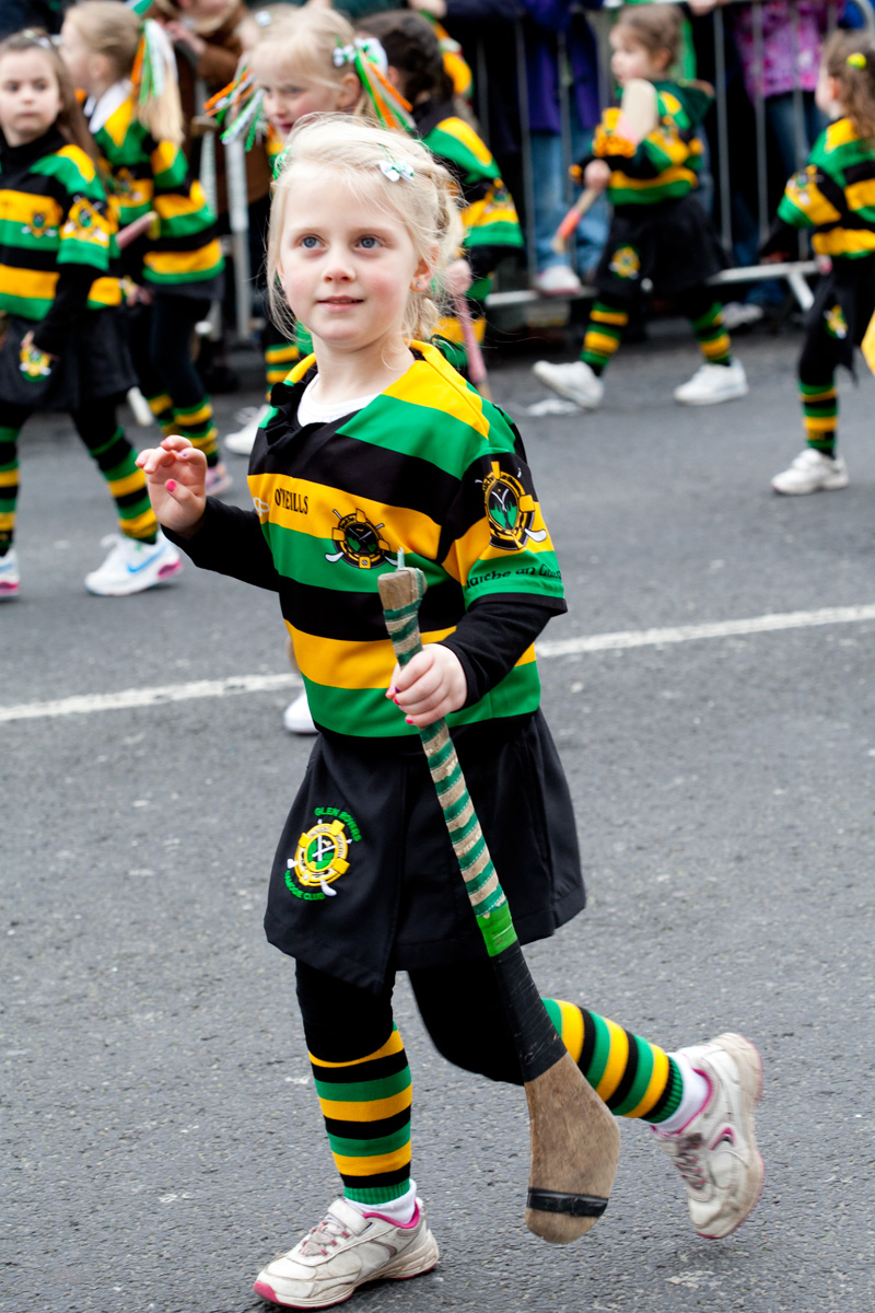 St. Patrick's day parade in Cork 2012
