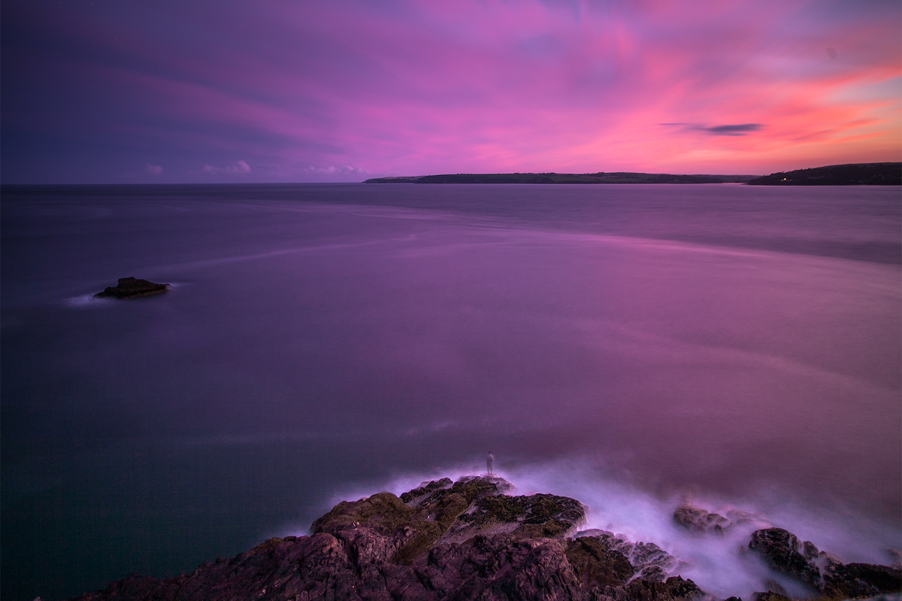 Sunset in Roches Point Cork Ireland